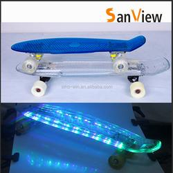Plastic longboard skateboard for sale
