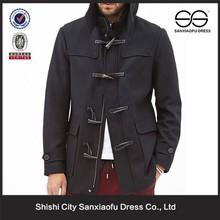 Custom últimas diseño barato invierno chaquetón marinero de lana para hombre
