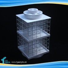 Trade Assurance Supplier Factory Direct Price Round Plastic Container With Lid