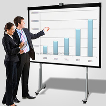 Office supplies Movable Interactive Office Whiteboard with mounted brackets