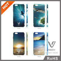 Mobile Accessory IML Printing Custom Phone Cover For iPhone 6 Factory Price