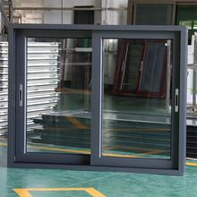 ROGENILAN grey color window grills design for sliding windows