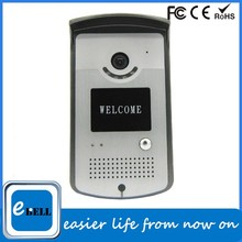 Hot new wifi doorbell for 2015, WIFI Doorbell withTwo-way audio IP66 IR 3m