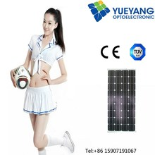 12v 100w 120w 130w 150w solar panel for home use