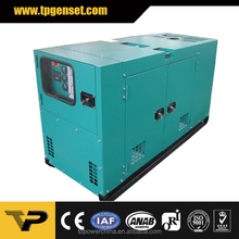 Small water cooled sound proof 9 kva diesel generator electrical power