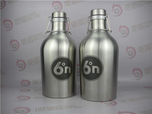 64oz Powder Coated Wide Mouth stainless steel Beer Growler for Beer
