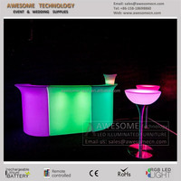 bar en led bar en acrilico / led bar furniture