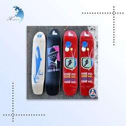 wholesale top quality fashion decorative custom colorful wooden skateboard