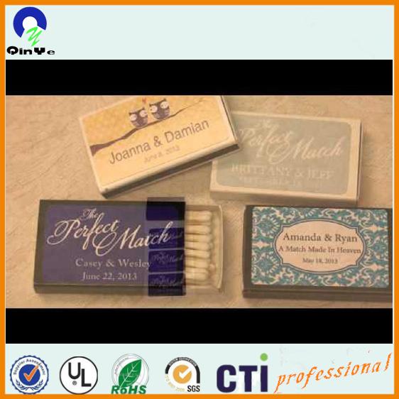 traditionnelle personnalis euro standard bote dallumettes saveur de mariage correspond - Boite D Allumette Personnalis Mariage