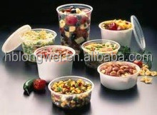food use disposable microwable food container 8oz 16oz 32oz