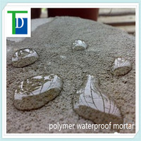 CHINA cohesive and anti craking TD-DWS polymer cement waterproof
