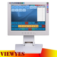12.1 inch Touch Screen LED Monitor USB RS232 Touchscreen Monitor in Black White