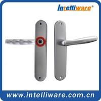 Aluminum resonable price wood door handle for office