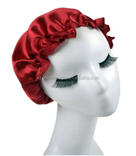 19MM silk hair wrap cap