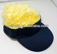 visor cap with hair wholesale alibaba express