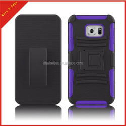 phone cover for samung galaxy note 5 edge pc silicone hybrid case,holster case for samsung note 5 edge