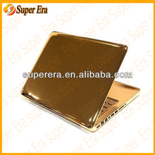 100% original quality for macbook all types luxury 24ct gold covers replacement--spare parts