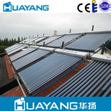 Heat Pipe Solar Collector/Electric heater for solar water heater CE/ SRCC/ Solar Keymark certification