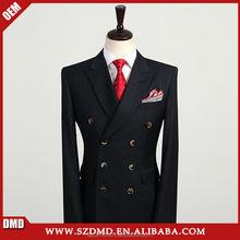 custom made klassischen zweireiher schwarz tr slim fit anzug