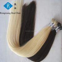 Wholesale Discount 100% Human Italian Keratin Ring nano hair extension