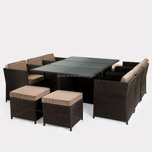 garden ridge outdoor furniture Rattan furniture(AN-847BK)