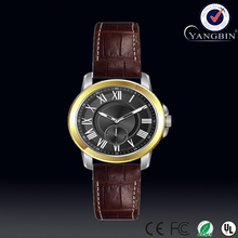 YB luxury hot selling pure leather wrist watch ladies fashion watches latest japan movt quartz stainless steel case