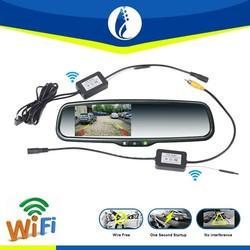 4.3inch TFT LCD CMOS Anti Fog Waterproof wireless Wifi Car Rear View Reverse Backup Camera
