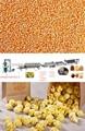 completamente automática recubiertos de azúcar máquina de las palomitas/línea de alimentación de palomitas de maíz
