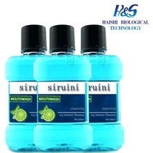 OEM Mint Mouth Wash Factory Supplied Breath Freshener OEM Mint Mouth Wash