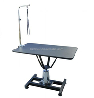 2015 Black Hydraulic dog grooming tables/Height adjustable pet grooming table for large dogs