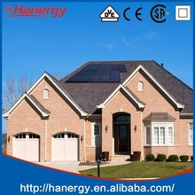 Hanergy flat roof 1.5kw import solar panel with competitive price