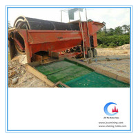 large capacity gold carpet sluice box, alluvial gold recovery portable sluice