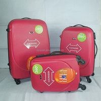 3PCS ABS Trolley Case sets Spinner luggage travel bags