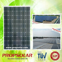 Propsolar high efficiency solar panels with frame 260w with best price TUV standard