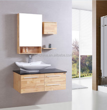 building materials the Canton fair china supplier wooden used bathroom vanity cabinets