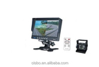 7 polegada Monitor LCD com câmera CCD Vedio HD retrovisor câmera com 7 polegada Monitor LCD