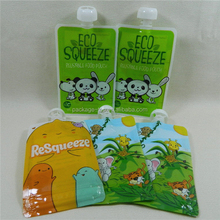 Stand Up Spout Pouch for Juice Jelly/aluminum foil bag