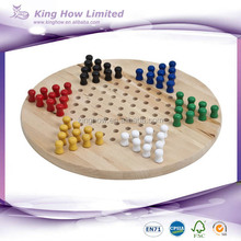 wooden chinese checker