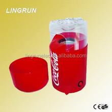 1200W 0.27L Electric plastic mini home popcorn cups /hot air popcorn machine