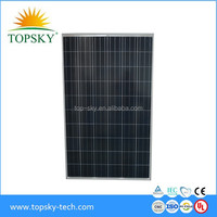 200KW Poly Solar Panels Stock for Roof Roof Sytem or Solar Plant with high quality Yingli 250W PV Modules