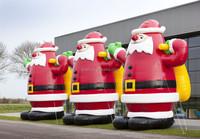 customized christmas inflatable santa clause
