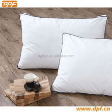 China supplier Hotel double stitch duck down white 40S*40S pillowcase