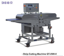 Fresh Chicken Meat Strip Cutting Machine QTJ500-II