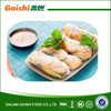 Chinese traditional food frozen vegetable summer rolls
