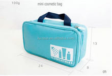 travel cosmetic bag, travel wash bag, travel makeup pouch