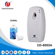 Refillable wall mounted automatic air freshener dispenser spray