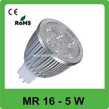 AC 12V high power MR 16 led spot bulb lighting, most powerful led downlight