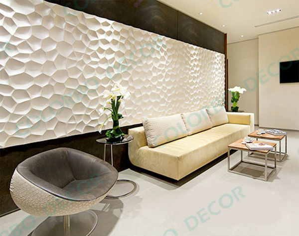 Wall covering decorative wall panel 3d wall panel interior for Panneau de decoration mural