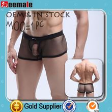 Free Sample Picture Of Man Underwear Big Mesh Sexy Penis Manview Underwear In Lingerie SM18-3