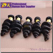 Direct factory top quality full cuticle gray hair wave,bulk loose wave malaysian human hair